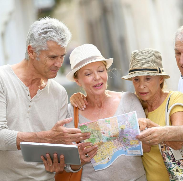 Accomodation offer for senior travelers in Spain